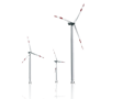 Wind power units