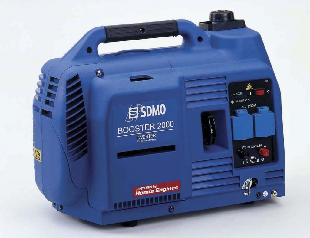 Mini Electrical Plant : Gasoline generators single phase v power stations in
