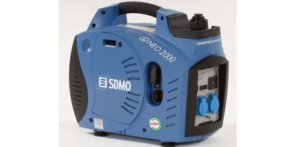 Small Electric Generator : Power plants in the enclosures of noise petrol single